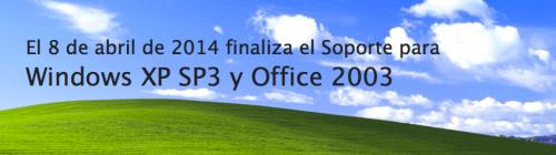 FIn de Windows XP y Office 2003