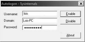 autologon-sysinternals
